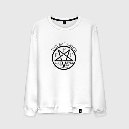 Мужской свитшот хлопок  Фото 01, The Satanist