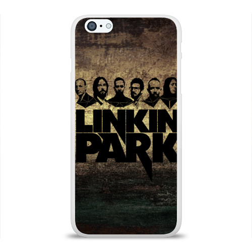 Чехол для Apple iPhone 6Plus/6SPlus силиконовый глянцевый  Фото 01, Linkin Park Band