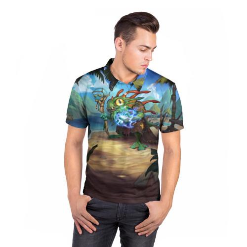 Мужская рубашка поло 3D Morgl the Oracle Фото 01