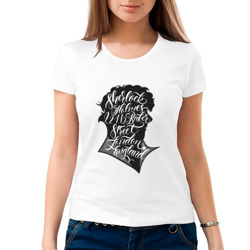Женская футболка хлопок  Фото 03, Шерлок