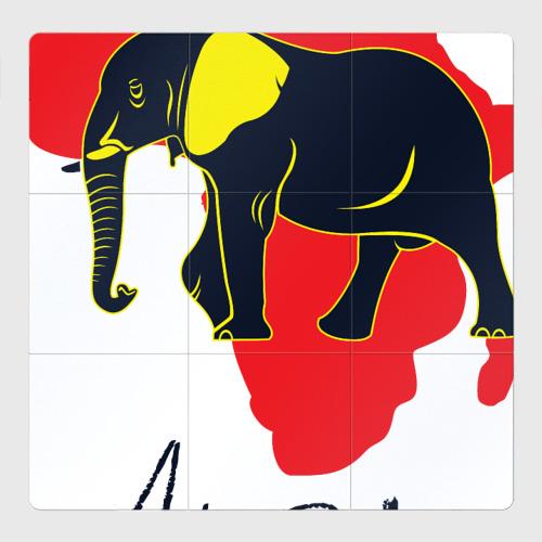 Магнитный плакат 3Х3 Африка
