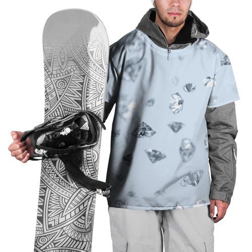 Накидка на куртку 3D  Фото 01, Flying diamonds
