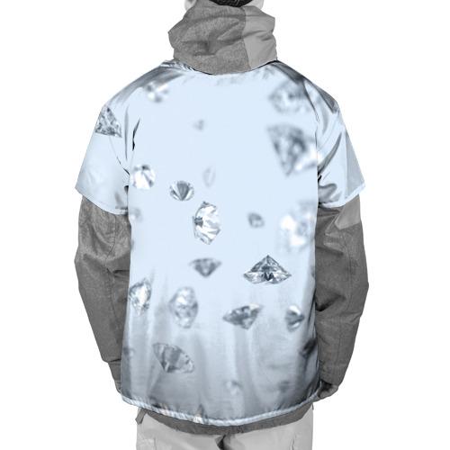 Накидка на куртку 3D  Фото 02, Flying diamonds