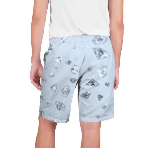 Мужские шорты 3D  Фото 02, Flying diamonds