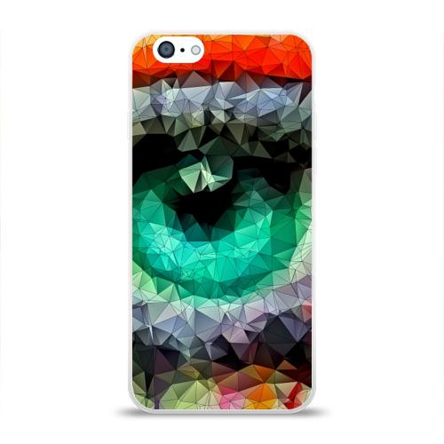 Чехол для Apple iPhone 6 силиконовый глянцевый eyes swag Фото 01