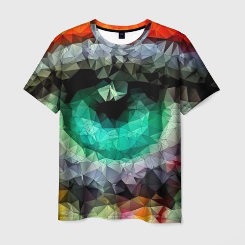 Мужская футболка 3D eyes swag