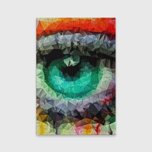 Обложка для паспорта матовая кожа eyes swag Фото 01