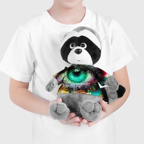Енотик в футболке 3D eyes swag Фото 01