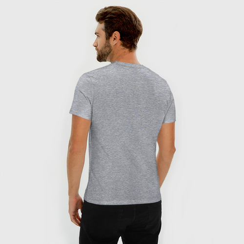 Мужская футболка премиум  Фото 04, Виток эволюции