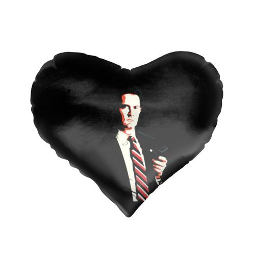 Подушка 3D сердце  Фото 01, Дейл Купер