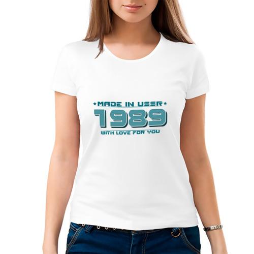Женская футболка хлопок  Фото 03, Made in USSR 1989