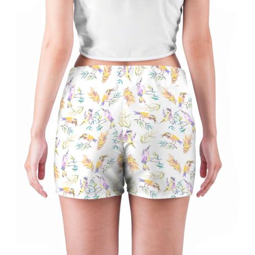 Женские шорты 3D  Фото 04, Пташки