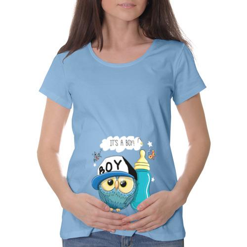 Футболка для беременных хлопок  Фото 01, Это мальчик!