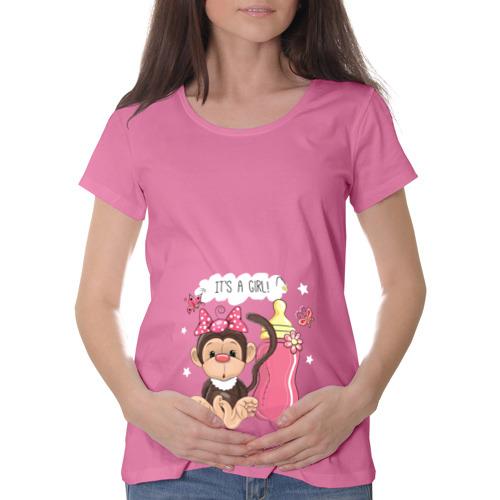 Футболка для беременных хлопок  Фото 01, It's a girl! (Это девочка)