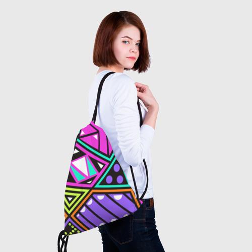 Рюкзак-мешок 3D  Фото 02, Geometry
