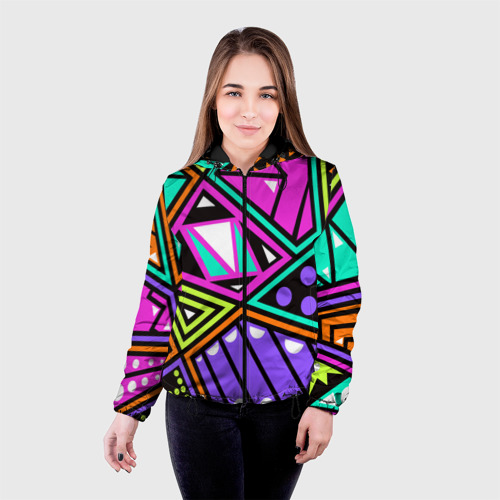 Женская куртка 3D  Фото 03, Geometry