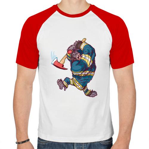 Мужская футболка реглан  Фото 01, Gorilla
