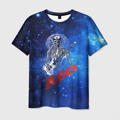 Мужская футболка 3D  Фото 01, Мертвый гитарист
