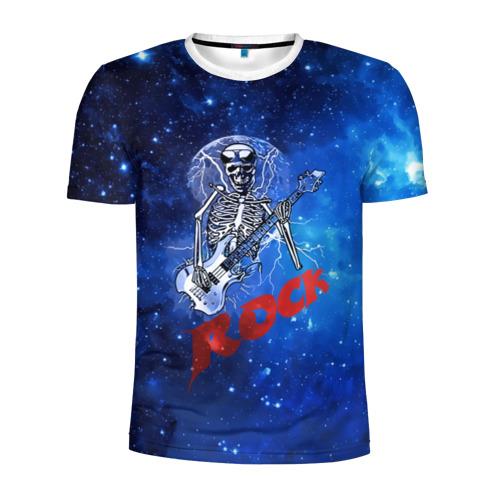 Мужская футболка 3D спортивная  Фото 01, Мертвый гитарист