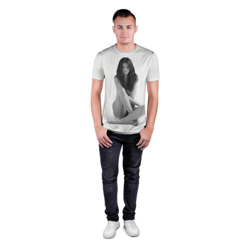 Мужская футболка 3D спортивная Selena Gomez Фото 01