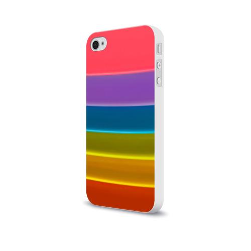 Чехол для Apple iPhone 4/4S soft-touch  Фото 03, Полосы