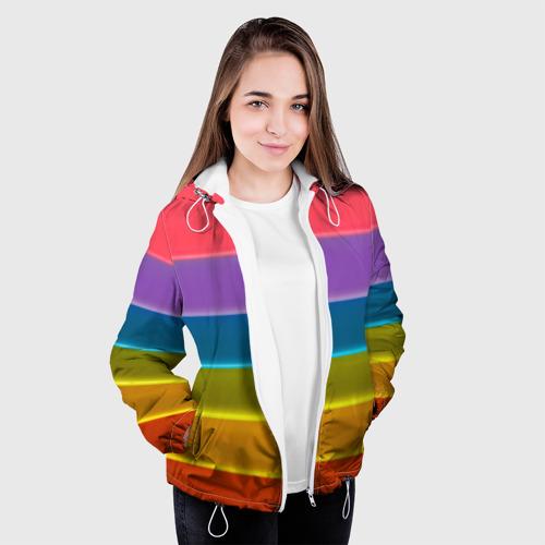 Женская куртка 3D  Фото 04, Полосы