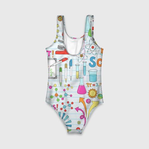 Детский купальник 3D Стикеры Наука Фото 01