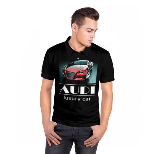 Мужская рубашка поло 3D  Фото 05, AUDI luxury car