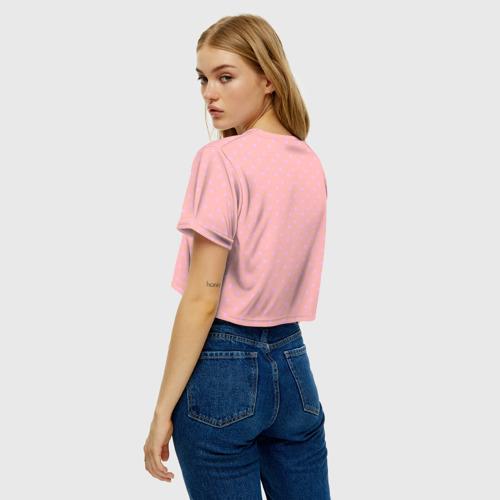 Женская футболка Crop-top 3D Lips Фото 01