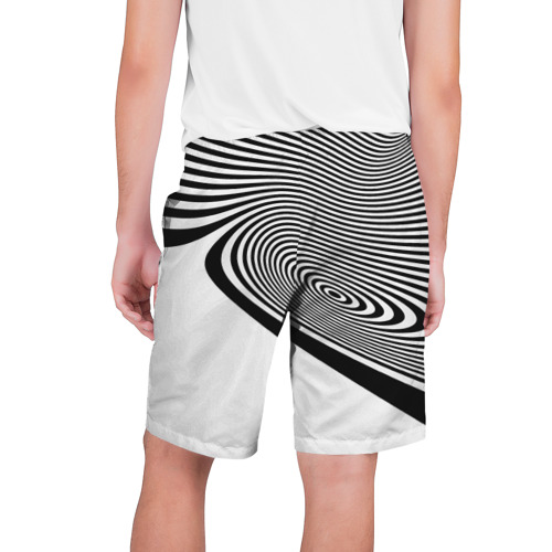 Мужские шорты 3D  Фото 02, Black&White illusion