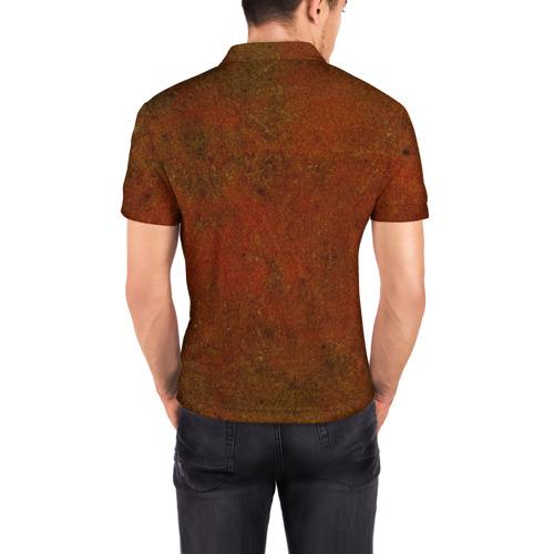 Мужская рубашка поло 3D  Фото 04, Русский байкер!