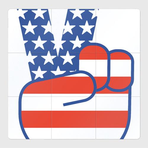 Магнитный плакат 3Х3 Peace USA