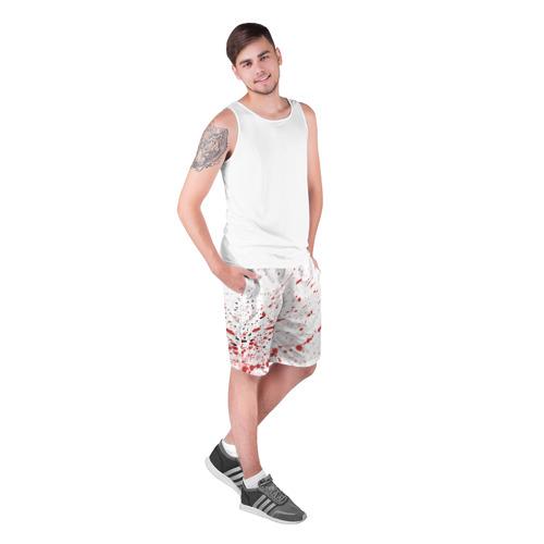 Мужские шорты 3D  Фото 03, Брызги