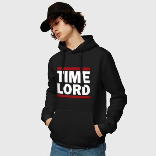 Мужская толстовка хлопок  Фото 03, Time Lord