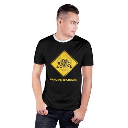 Мужская футболка 3D спортивная  Фото 03, Imagine Dragons Radioactive