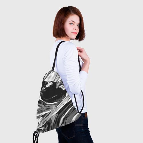 Рюкзак-мешок 3D Серые краски Фото 01