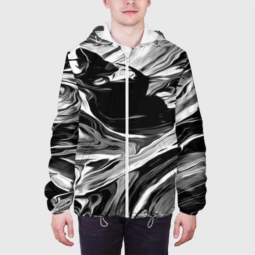 Мужская куртка 3D Серые краски Фото 01