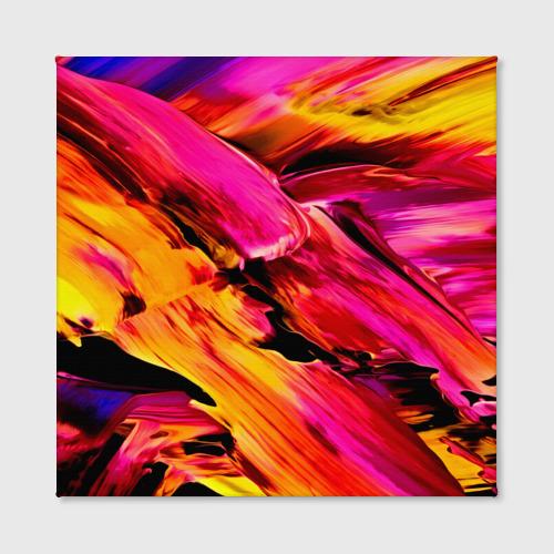 Холст квадратный  Фото 02, Акварельный цвет