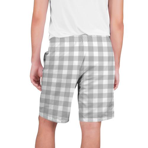 Мужские шорты 3D  Фото 02, Grey squares