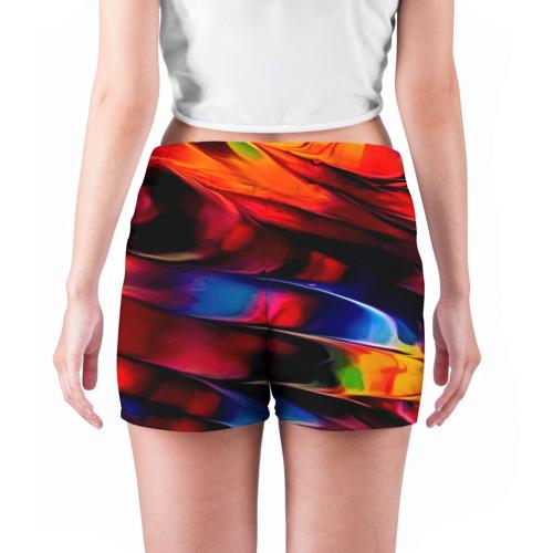 Женские шорты 3D  Фото 04, Краски