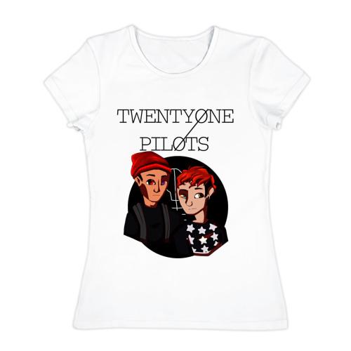 Женская футболка хлопок  Фото 01, TOP