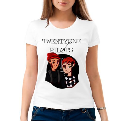 Женская футболка хлопок  Фото 03, TOP