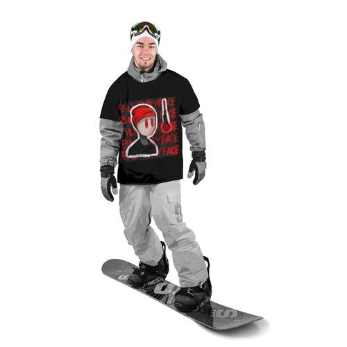 Накидка на куртку 3D  Фото 03, Blurryface