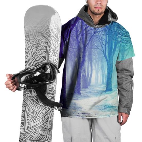 Накидка на куртку 3D  Фото 01, Мрачный лес