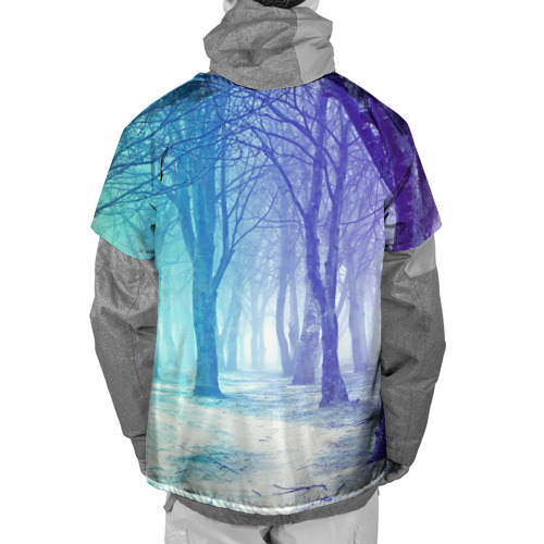 Накидка на куртку 3D  Фото 02, Мрачный лес