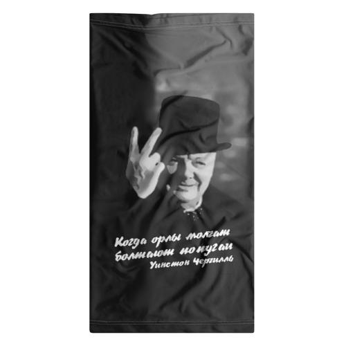 Бандана-труба 3D  Фото 07, Цитата Уинстона Черчилля