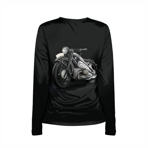 Женский лонгслив 3D для беременных  Фото 02, Мотоцикл BMW