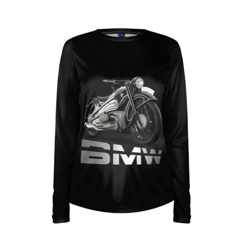 Женский лонгслив 3D для беременных  Фото 03, Мотоцикл BMW