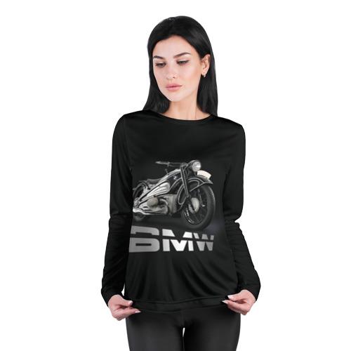 Женский лонгслив 3D для беременных  Фото 04, Мотоцикл BMW