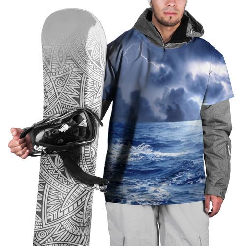 Накидка на куртку 3D  Фото 01, Шторм